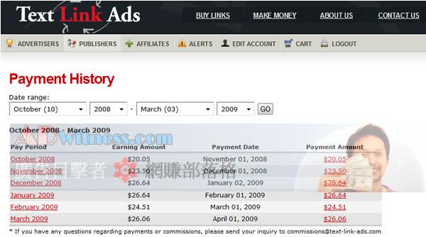 Text-Link-Ads出租文字連結收益